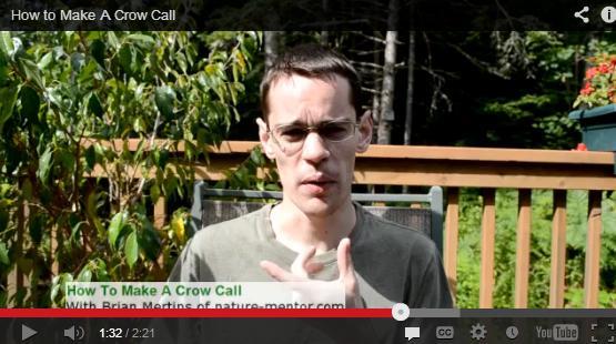 How to Make a Crow Call