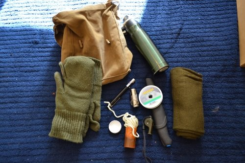 Basic wilderness survival kit