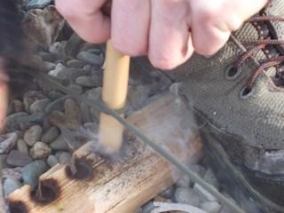 Bow Drill Smoke
