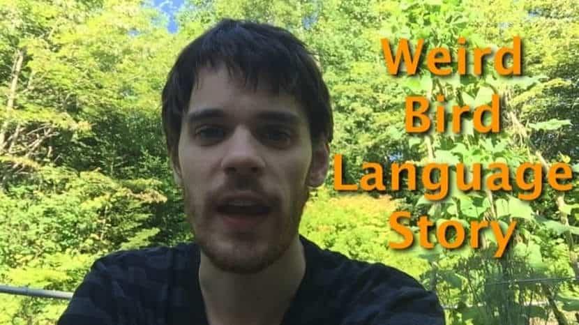 Weird Bird Language Story